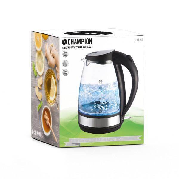 Köp Champion Vattenkokare CHVK210 Glas 1,7 l Från 299 kr