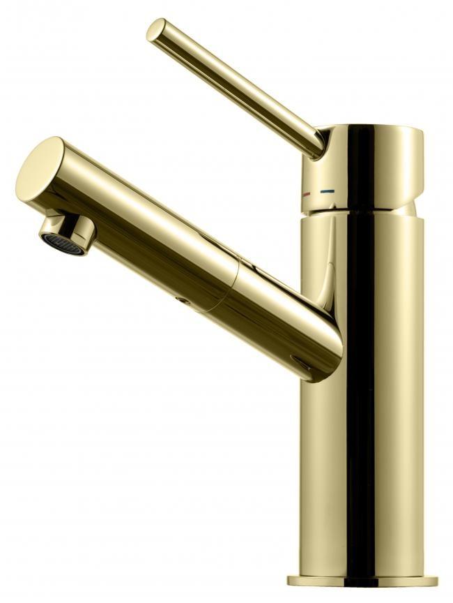 Tapwell Tvättställsblandare Birillo BI071 Honey Gold - Honey Gold