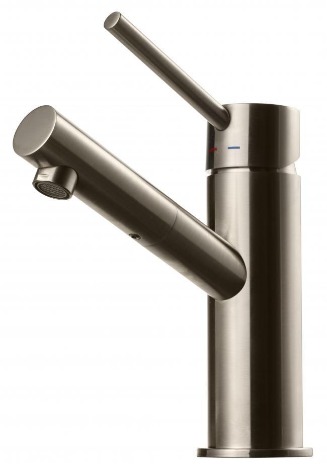 Tapwell Tvättställsblandare Birillo BI071 Borstad Nickel - Borstad nickel