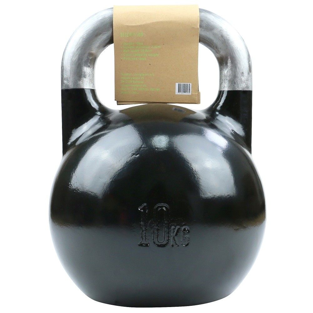 TITAN LIFE Kettlebell Steel Competition - 10 kg