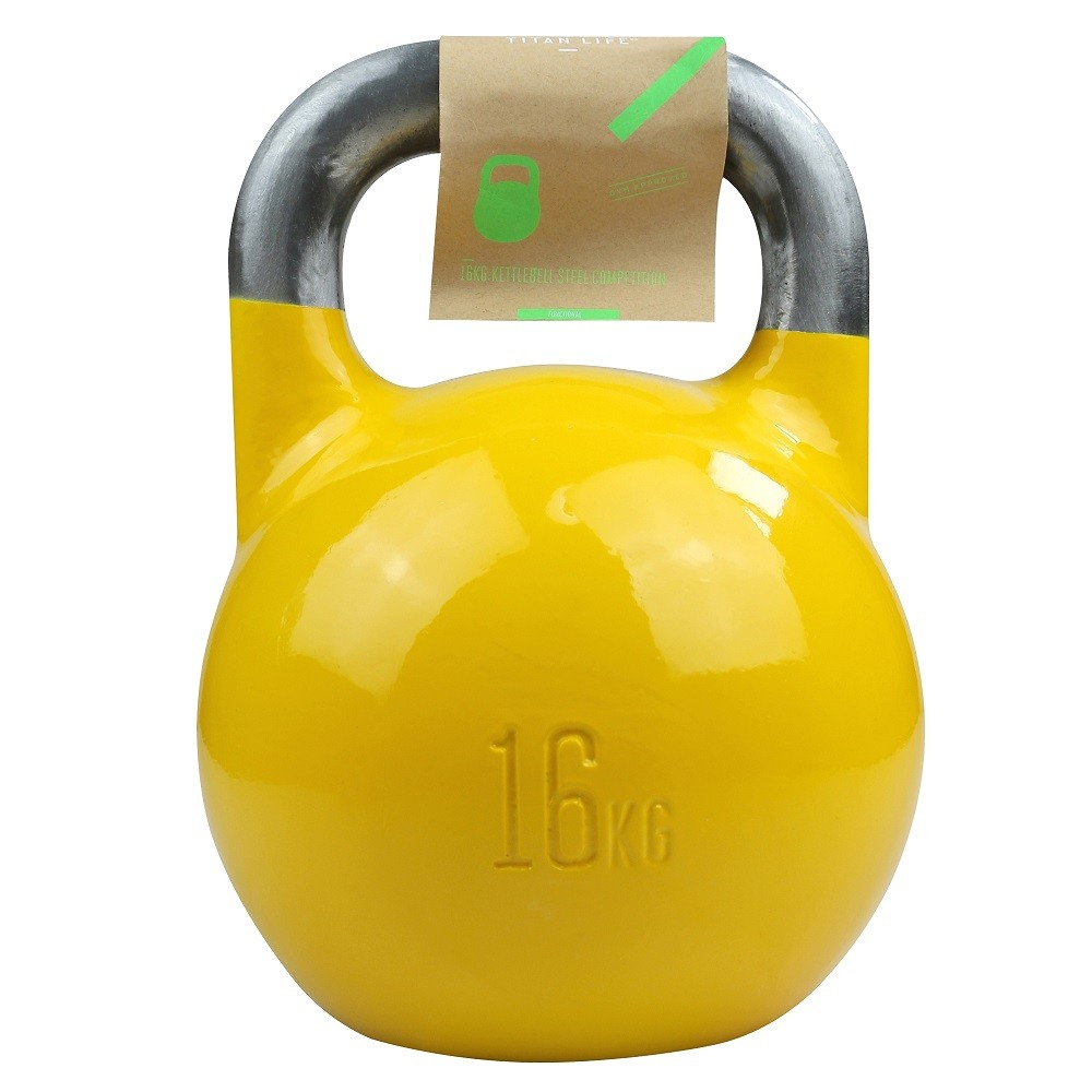 TITAN LIFE Kettlebell Steel Competition - 16 kg