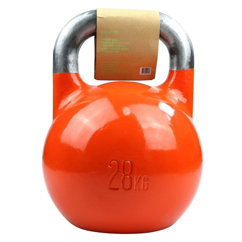 TITAN LIFE Kettlebell Steel Competition - 28 kg