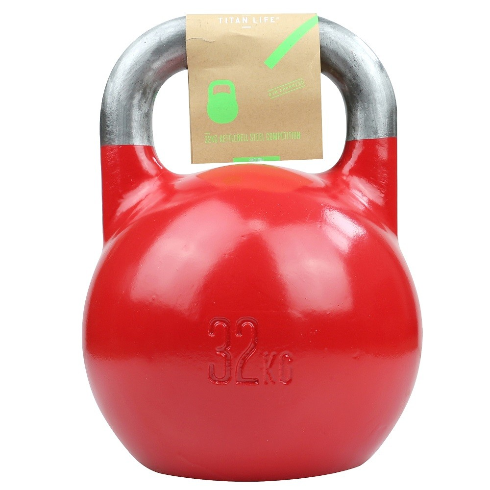 TITAN LIFE Kettlebell Steel Competition - 32 kg