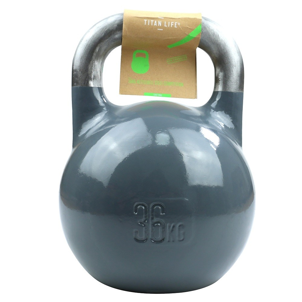 TITAN LIFE Kettlebell Steel Competition - 36 kg