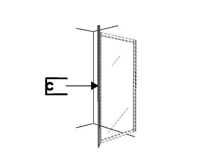 Ifö Solid Golv Och Takstöd Natur SVGT Aluminium