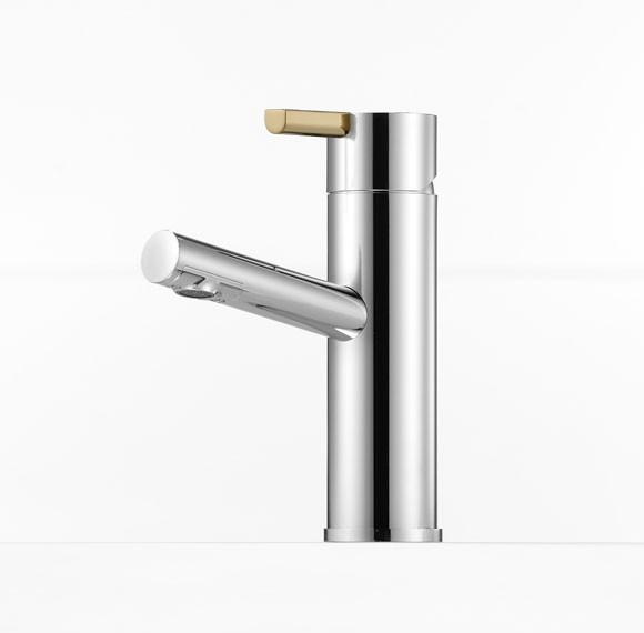 Mora Tvättställsblandare Rexx B5 Krom/Guld