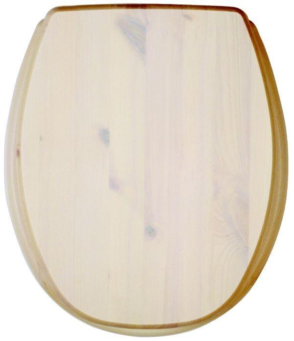 Kandre WC-Sits Kanwood - Furu/Vitlaserad
