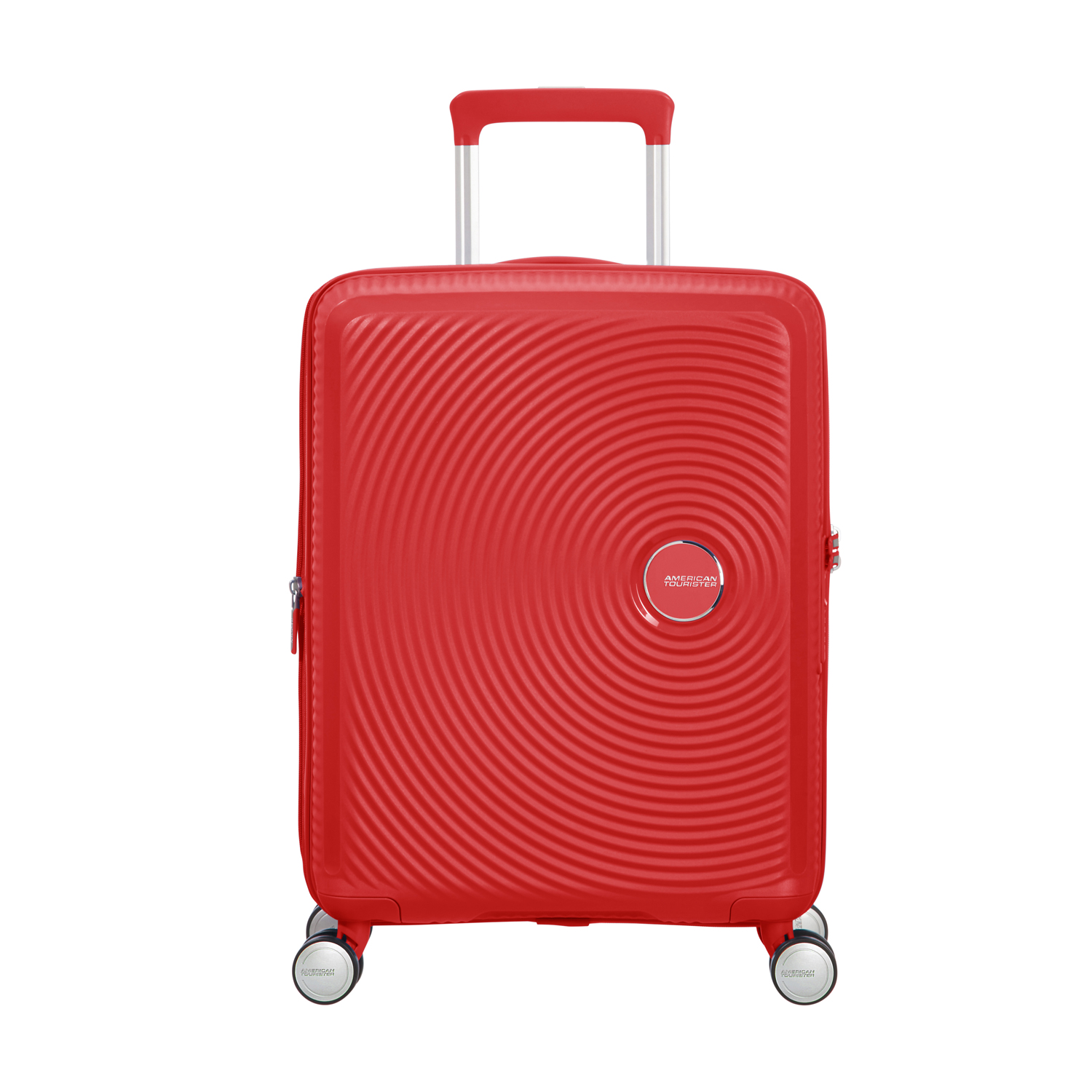 American Tourister Soundbox Sp 55 Exp. Coral Red