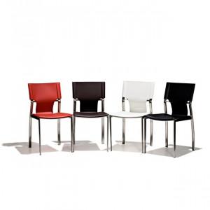 Chairs + More Mexico matstol röd
