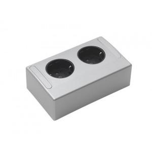 Beslag Design 99279 Kopplingsbox - Dubbelt eluttag
