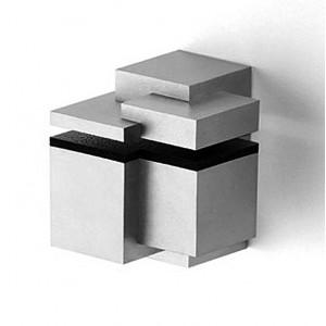 Beslag Design HYLLBÄRARE 2454 Alu-Look