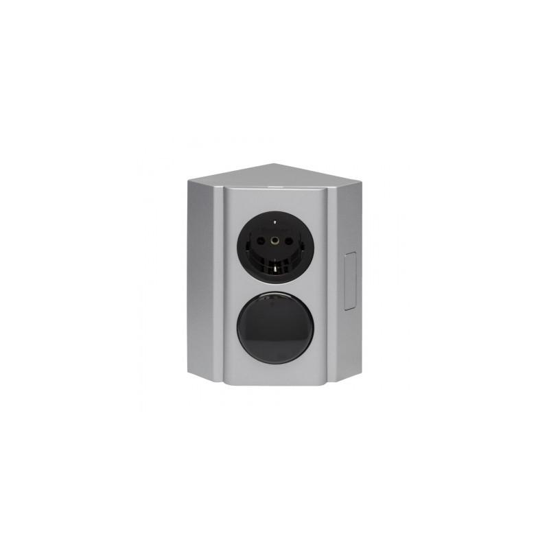Unika Köp Beslag Design Kopplingsbox strömbrytare/eluttag (230V) Från 1 EY-44