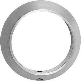 Beslag Design Cylinderring 113 - Rostfritt Höjd: 8 mm
