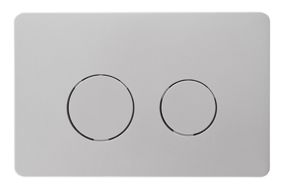 Svedbergs Tryckplatta WC Mattkrom