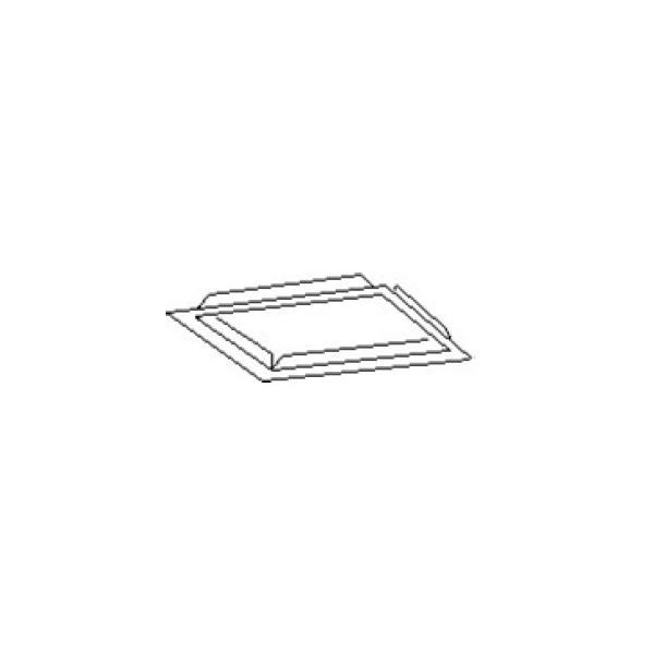 Franke Inbyggnadsplåt 400 Silver