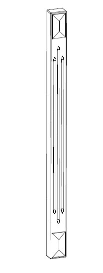 Ballingslöv Dekorben D868BT 868x50 Tradition