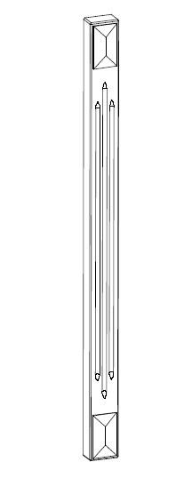 Ballingslöv Dekorben 2098x50 BT