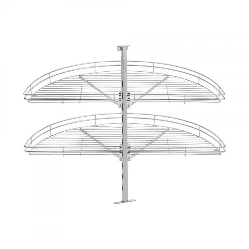Beslag Design Karusell Fina 1/2 820 Silver