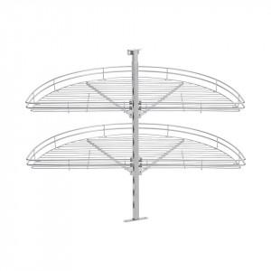 Beslag Design Karusell Fina 1/2 890 Silver