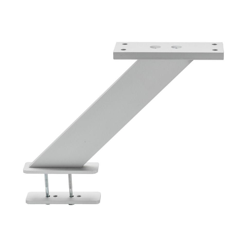 Beslag Design Stöd Barben Platt Aluminium