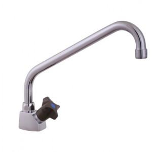 Kallvattentappkran med svängbar pip