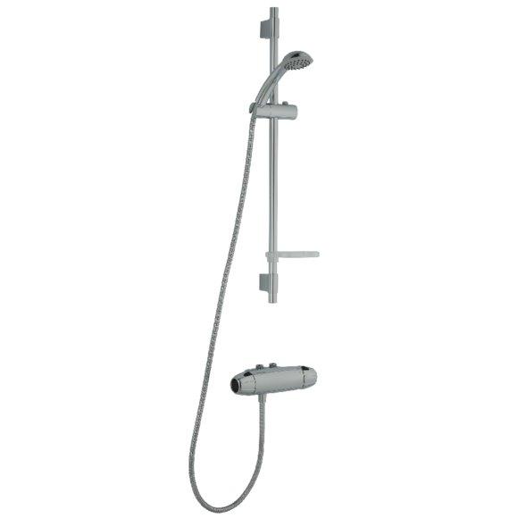 9000E duschpaket 40 c/c, inlopp upp