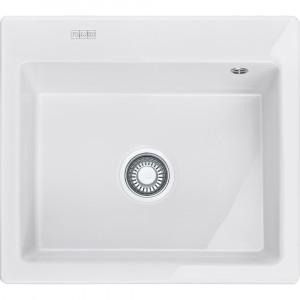 Franke MTK 610-58, porslin,white,push waste,v-lås