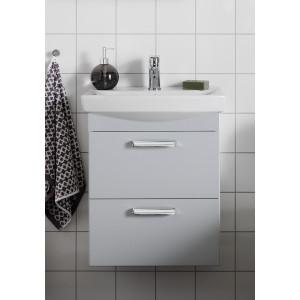 Life Tvättställsskåp Med Lådor Ljusgrå Matt