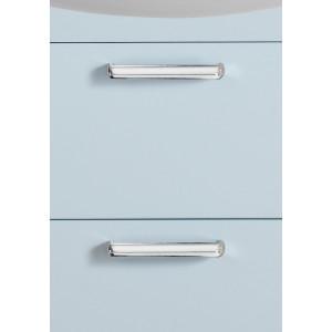 Life Tvättställsskåp Med Lådor Ljusblå Matt