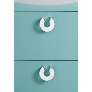 Life Tvättställsskåp Med Lådor Turkosgrön