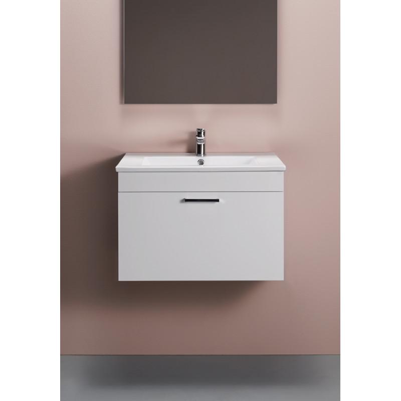 Tvättställ 600 Compact Rektangulär Ho