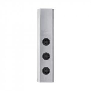 Eluttag Beslag Design Powerbox 3 Rak USB