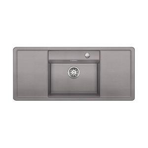 Blanco Infällnad Diskbänk Alaros 6 S Alumetallic