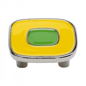 Beslag Design Knopp Emalj Maxi