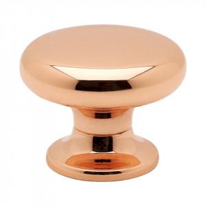 Beslag Design Knopp 8702 Koppar