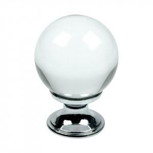 Beslag Design Knopp Crystal
