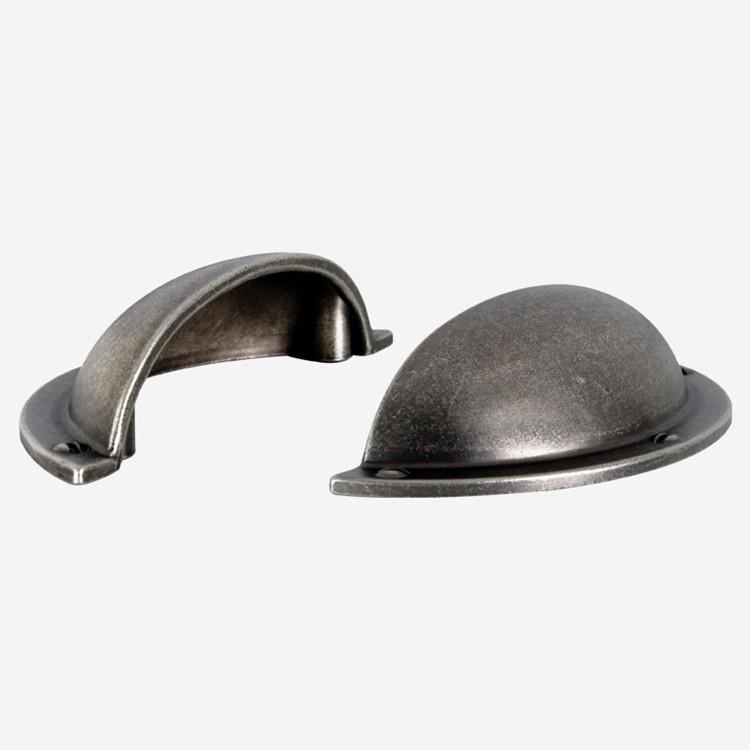 Ballingslöv Handtag HG325 Antikbehandlad metall c/c 64 mm