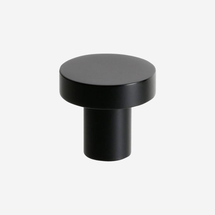Ballingslöv Knopp RK80B svart metall