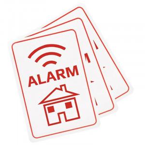 Denver Larm-etikett till fönster o dörr ASA-10