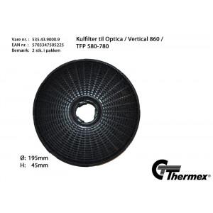 Thermex Recirkulationsfilter Ø195 mm