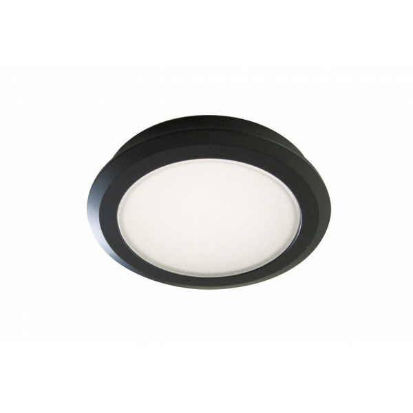 Moderne blanc brillant réglable 3 façon plaque ronde plafond Spotlight-IP44 Rated